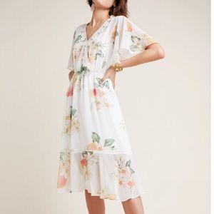 Anthropologie farm rio eloisa floral dress
